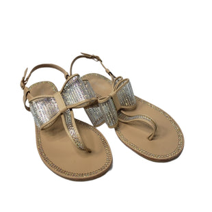 Primary Photo - BRAND: SHOEDAZZLE STYLE: SANDALS FLAT COLOR: SPARKLES SIZE: 10 SKU: 299-29950-11813