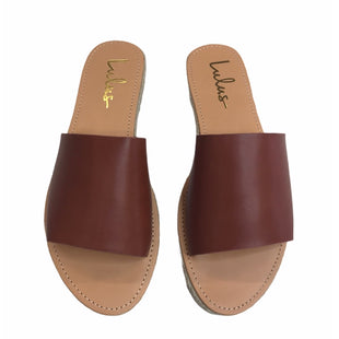 Primary Photo - BRAND: LULUS STYLE: SANDALS LOW COLOR: TAN SIZE: 10 SKU: 299-29929-59186
