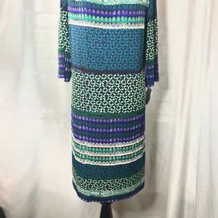 Primary Photo - BRAND: DONNA MORGAN STYLE: DRESS SHORT SHORT SLEEVE COLOR: MULTI SIZE: 16 OTHER INFO: ALMOST 3/4 SLEEVES SKU: 299-29950-6817