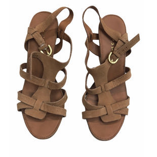 Primary Photo - BRAND: FRANCO SARTO STYLE: SANDALS HIGH COLOR: BROWN SIZE: 9 SKU: 299-29987-709