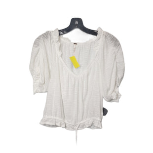 Primary Photo - BRAND: FREE PEOPLE STYLE: TOP SHORT SLEEVE COLOR: WHITE SIZE: M SKU: 299-29929-58753