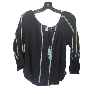 Primary Photo - BRAND: PASSPORT STYLE: TOP LONG SLEEVE COLOR: BLACK SIZE: M SKU: 299-29950-12004