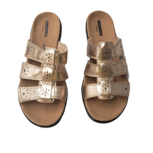 Primary Photo - BRAND: CLARKS STYLE: SANDALS LOW COLOR: GOLD SIZE: 8 SKU: 299-29929-60148