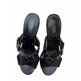 Primary Photo - BRAND: HARLEY DAVIDSON STYLE: SANDALS HIGH COLOR: BLACK SIZE: 6.5 SKU: 299-29929-54039