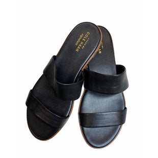 Primary Photo - BRAND: COLE-HAAN STYLE: SANDALS FLAT COLOR: BLACK SIZE: 7 OTHER INFO: NEW! SKU: 299-29950-10919