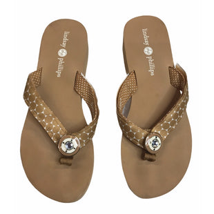 Primary Photo - BRAND:    LINDSAY PHILLIPSSTYLE: FLIP FLOPS SIZE: 10 SKU: 299-29929-59505