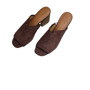 Primary Photo - BRAND: UNIVERSAL THREAD STYLE: SANDALS HIGH COLOR: BROWN SIZE: 8.5 SKU: 299-29950-11614