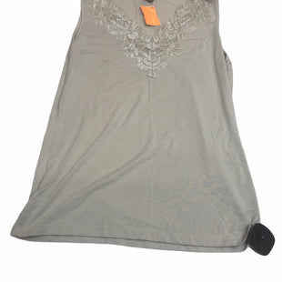 Primary Photo - BRAND: ANN TAYLOR STYLE: TOP SLEEVELESS COLOR: KHAKI SIZE: M SKU: 299-29929-56122