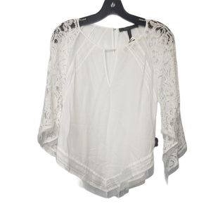 Primary Photo - BRAND: BCBGMAXAZRIA STYLE: TOP LONG SLEEVE COLOR: WHITE SIZE: S SKU: 299-29950-12090