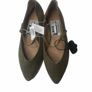 Primary Photo - BRAND: OLD NAVY STYLE: SHOES FLATS COLOR: OLIVE SIZE: 8.5 OTHER INFO: NEW WITH TAGS SKU: 299-29974-649