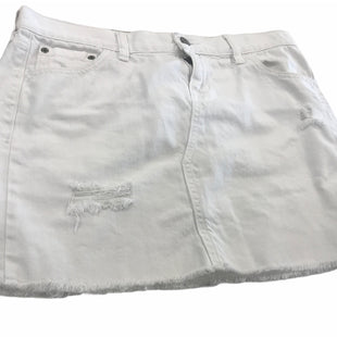 Primary Photo - BRAND: OLD NAVY STYLE: SKIRT COLOR: DENIM WHITE SIZE: 6 SKU: 299-29929-57588