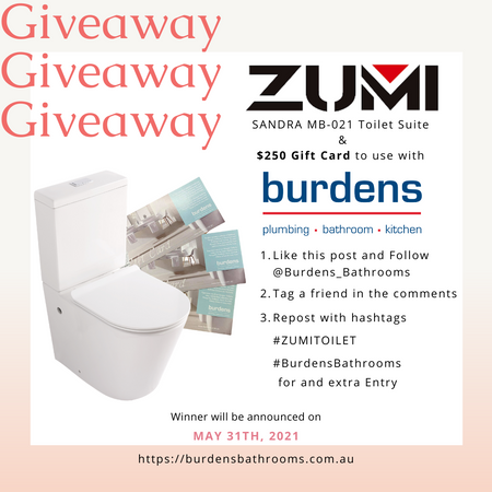 ZUMI Toilet Giveaway Rules