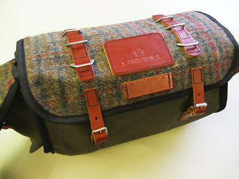 Barley saddlebag -HARRIS TWEED (Limited Edition)