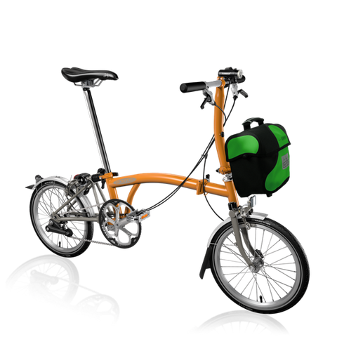 Recommended Build: Brompton S2L-X with Mini O Bag