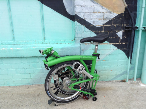 Brompton ML3 - APPLE GREEN