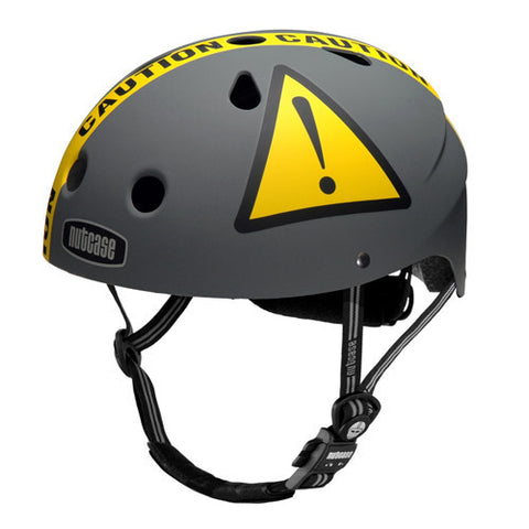 Nutcase Little Nutty Helmet - Urban Caution (Matte)