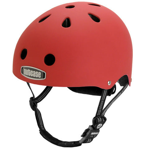 Nutcase Helmet Fire Engine Red Matte