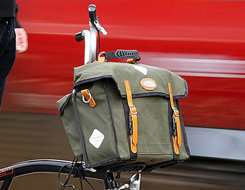 City Folder (Fits Brompton M Type) - GREEN