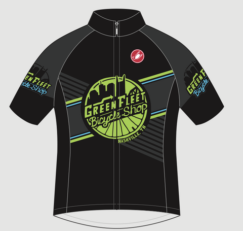 Castelli Green Fleet Jersey