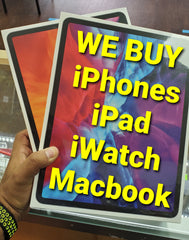 WE Buy iPhones, iPad, Macbook, iwatch and other Apple Products