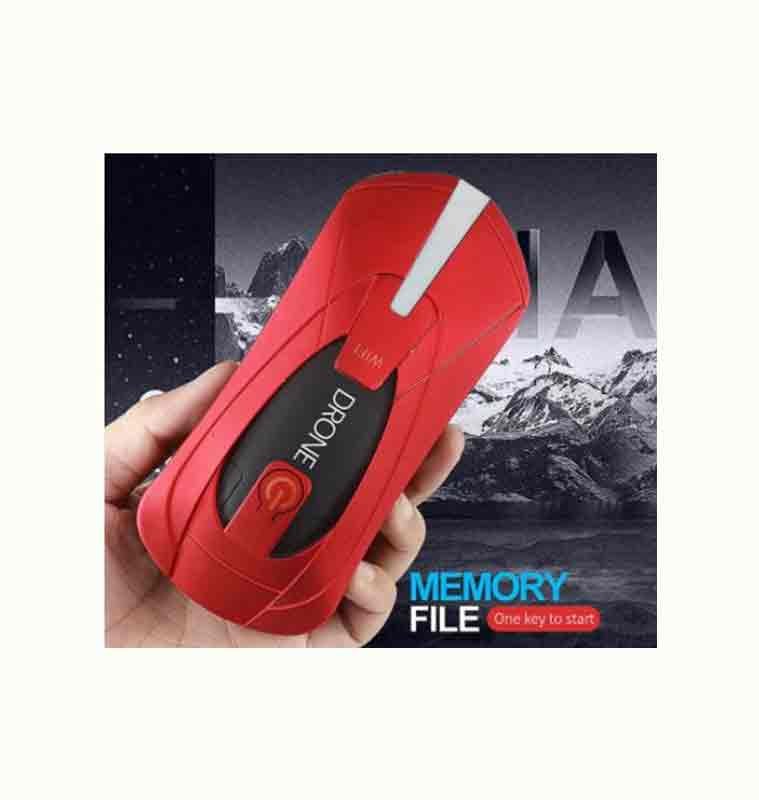 JY018 Red Mini Foldable RC Selfie Pocket Drone - Store Zone-Online Shopping Store Melbourne Australia