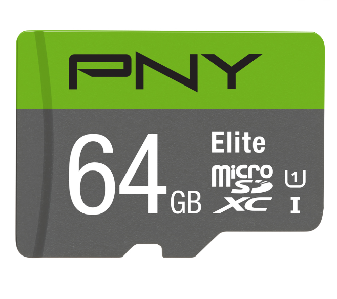 PNY 64GB Elite Class 10 U1 MicroSD Flash Card Elite, 100MB/S Speed - Store Zone-Online Shopping Store Melbourne Australia