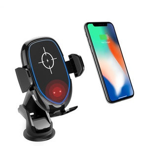 Automatic Clamping Qi Charging Suction Mount A Desktop Mount And An Air Vent Mount Phone Holder - Store Zone-Online Shopping Store Melbourne Australia