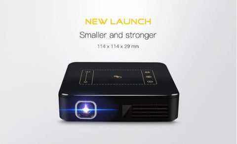 DLP Led Projector Touch Pad Mini Portable - Store Zone-Online Shopping Store Melbourne Australia