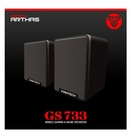 Fantech GS733 Desktop Mini Portable USB 2.0 Wired Powered Laptop Multimedia Computer Speaker 3.5mm - Store Zone-Online Shopping Store Melbourne Australia