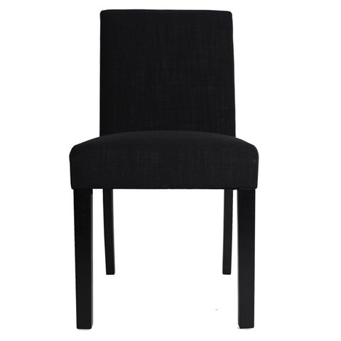Tom Dining Chair Black flat pack