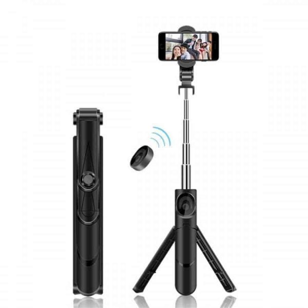 Mini Bluetooth Selfie Stick Foldable Handheld Tripod Monopod Remote Control Holder Stand - Store Zone-Online Shopping Store Melbourne Australia