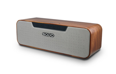 L4 Wooden Pattern True Wireless Bluetooth Speaker NFC - Store Zone-Online Shopping Store Melbourne Australia