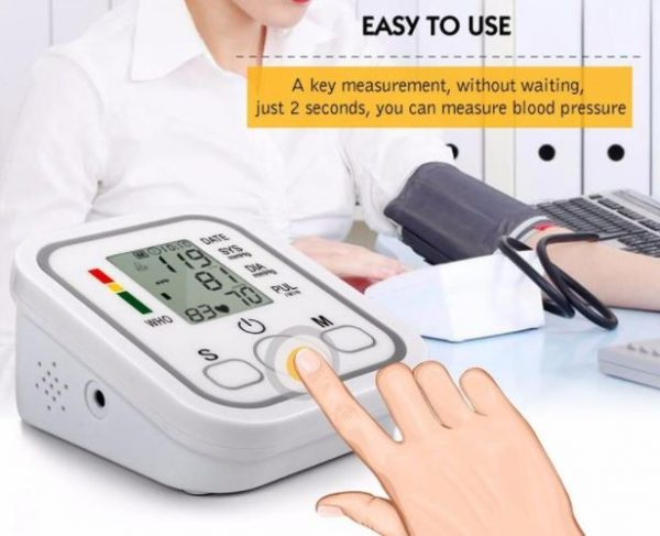 Arm Style Electronic Blood Pressure Monitor - Store Zone-Online Shopping Store Melbourne Australia