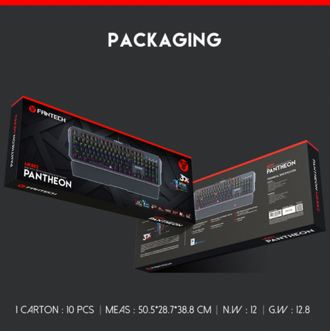 Fantech Waterproof Dustproof Wired Optical Gaming Keyboard - Store Zone-Online Shopping Store Melbourne Australia
