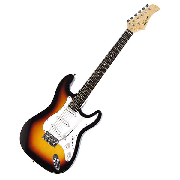 Karrera 39in Electric Guitar - Sunburst