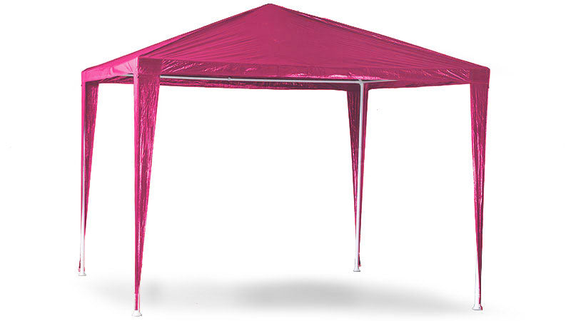 3x3m Wallaroo Outdoor Party Wedding Event Gazebo Tent - Pink