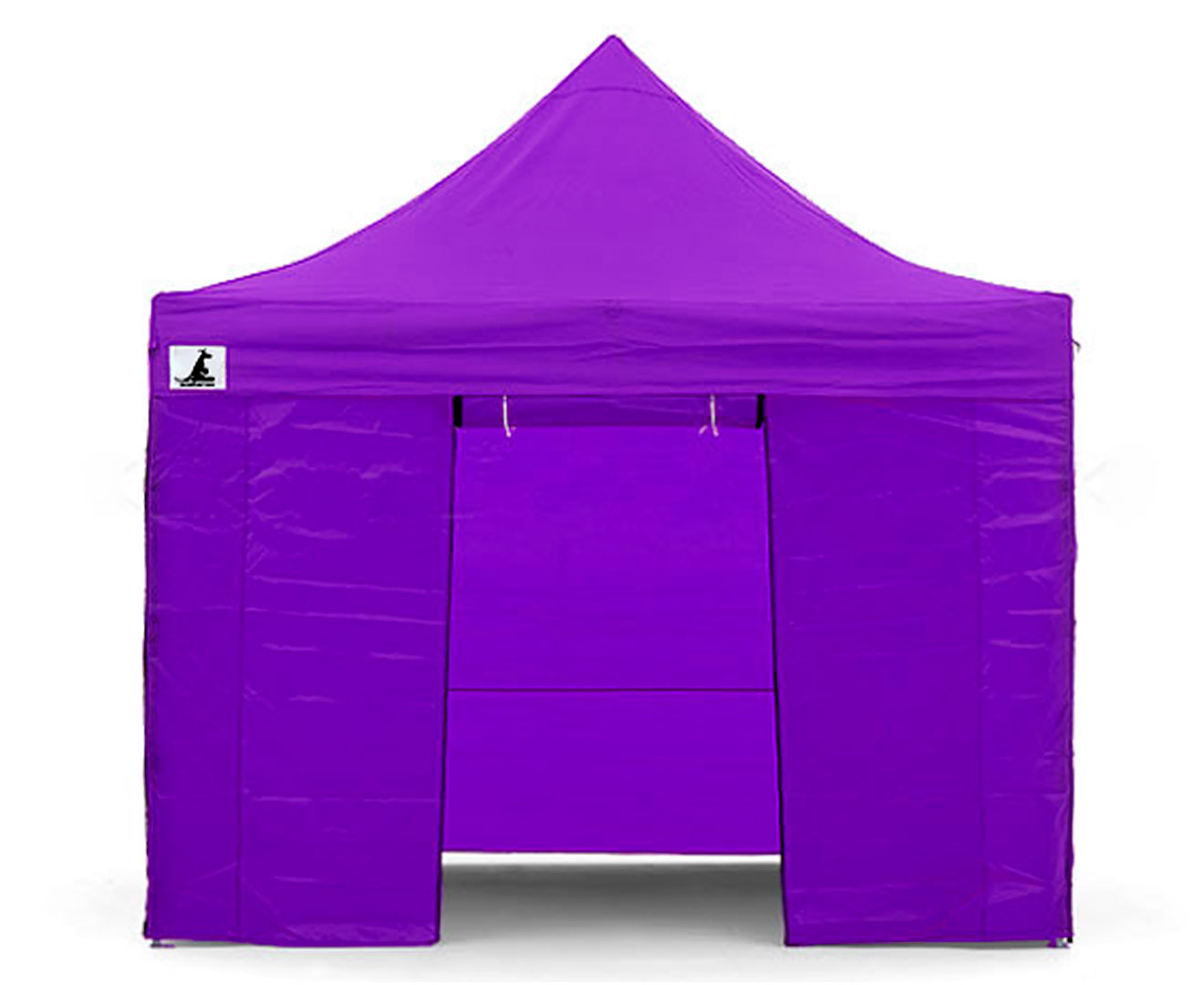 Gazebo Tent Marquee 3x3 PopUp Outdoor Wallaroo Purple