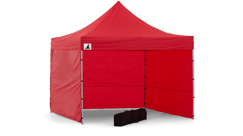 Gazebo Tent Marquee 3x3 PopUp Outdoor Wallaroo Red
