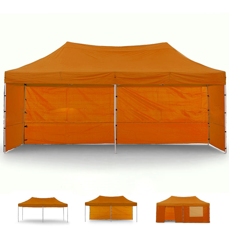 Gazebo Tent Marquee 3x6m PopUp Outdoor Wallaroo Orange