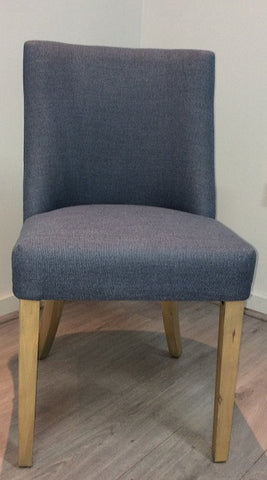 Ophelia Dining Chair Denim Blue