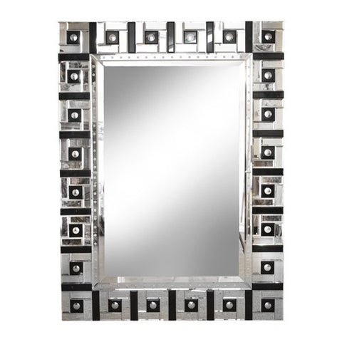 Squares Mirror  60% off very slight marks on corner panels.