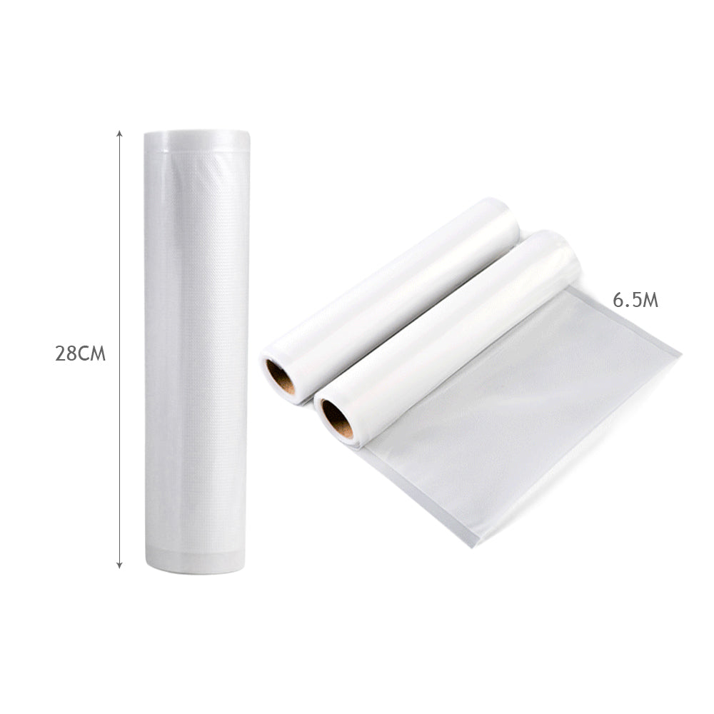 4x Vacuum Food Sealer Bag Storage Rolls Heat Grade