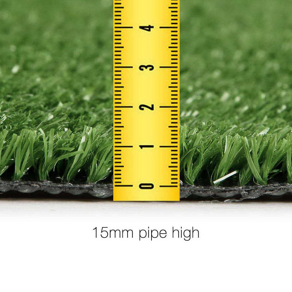 Primeturf Artificial Synthetic Grass 2 x 5m 15mm - Olive Green