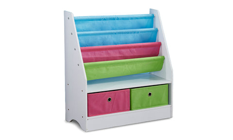 Kids Children Bookcase/ Toy Bins