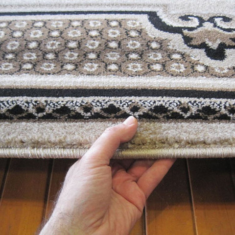 Turkish Persian Beige Leif Rugs - Store Zone-Online Shopping Store Melbourne Australia