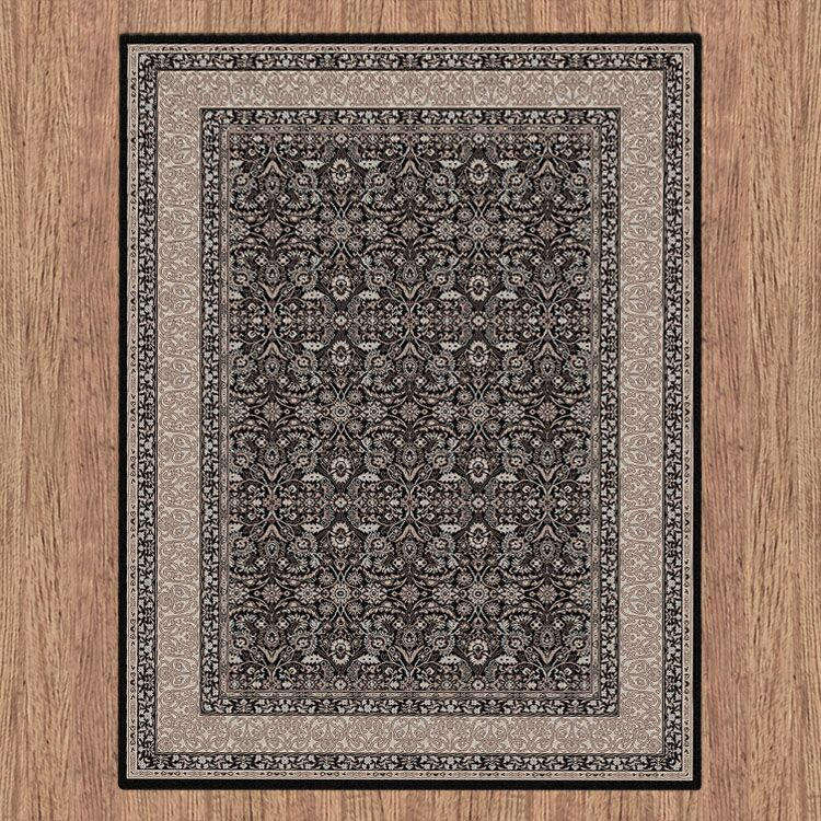 Turkish Persian Black Aaron Rugs - Store Zone-Online Shopping Store Melbourne Australia