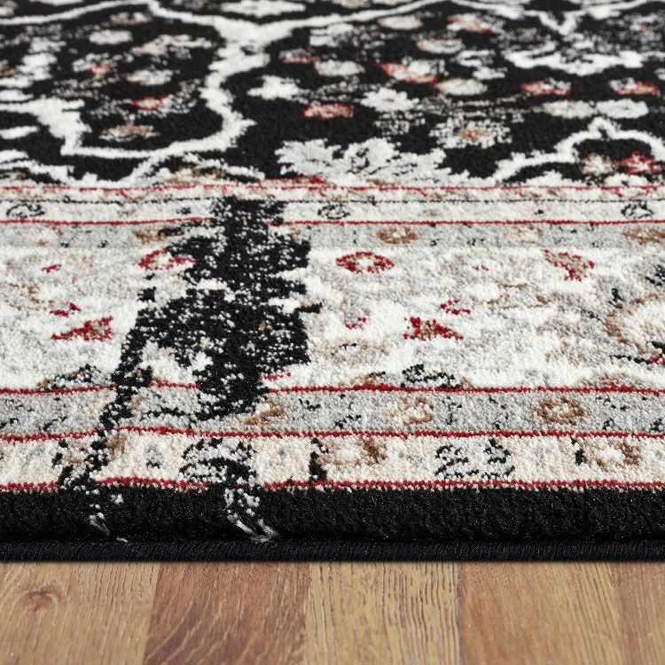 Turkish Persian Black Berlin Rugs - Store Zone-Online Shopping Store Melbourne Australia