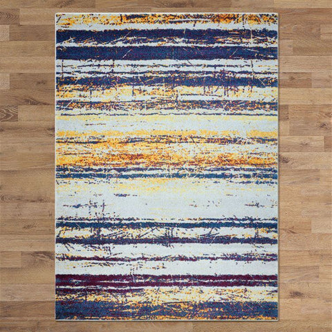LUXURIOUS BLUE FRIDA RUGS AREA - Store Zone-Online Shopping Store Melbourne Australia