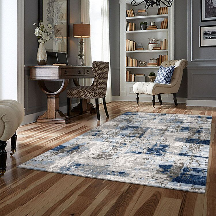 Turkish Persian Blue Elsa Rugs - Store Zone-Online Shopping Store Melbourne Australia
