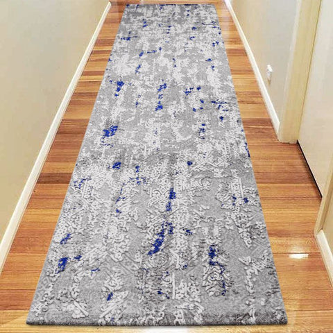 Turkish Persian Blue Rold Rugs - Store Zone-Online Shopping Store Melbourne Australia